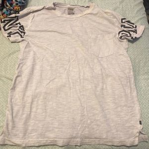 Victoria's Secret PINK campus short sleeve tee